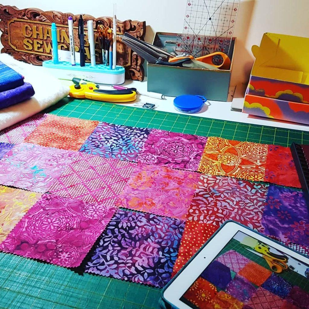 Online sewing workshop